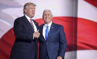 Donald Trump et Mike Pence, le 5 janvier 2020.