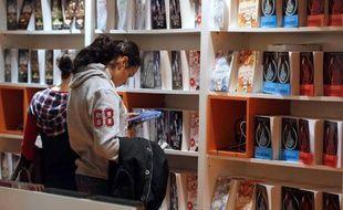 Au Salon du livre pour la jeunesse de Montreuil (Photo d'archives).