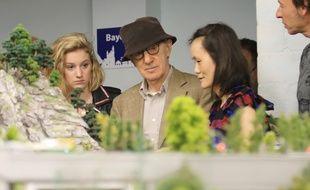 Le réalisateur Woody Allen et sa femme Soon-Yi Previn.