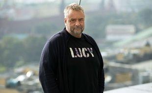 Luc Besson lors de la promotion de «Lucy» en Russie en septembre 2014