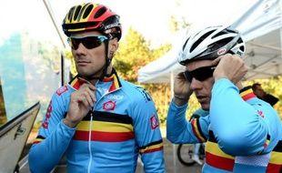 La Belgique, qui aligne Philippe Gilbert et Tom Boonen, prend le peloton en tenaille dans le Championnat du monde annuel, long de 267 kilomètres dimanche sur le parcours de Valkenburg dans le sud des Pays-Bas.