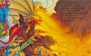 A l'école des dragons, Charles finira par apprendre à cracher du feu comme les grands.