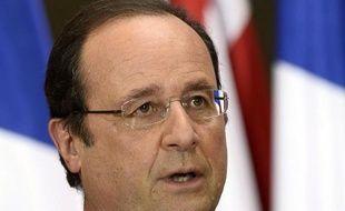 Le président François Hollande, le 13 mai 2014 à Tbilissi