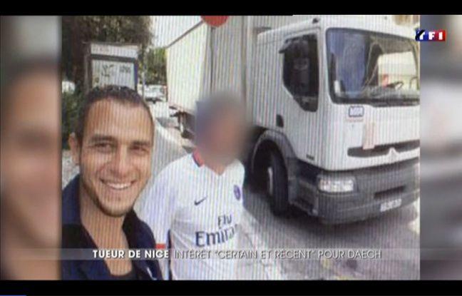 Selfie de Mohamed Lahouaiej Bouhlel le 13 juillet à Nice.