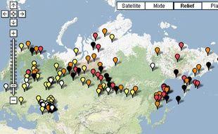 En Russie, 136 langues sont considérées comme vulnérables, en danger ou en situation critique selon l'atlas interactif de l'Unesco.