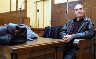 Jacques Maire, lors de son procès en 2008 à Metz.(Moselle).