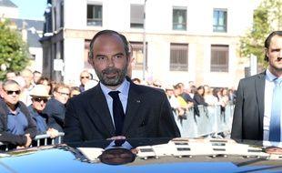 Le Premier ministre Edouard Philippe à Rodez, le 4 octobre 2018.
