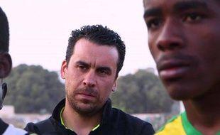 Le responsable du recrutement du FCN Matthieu Bideau.