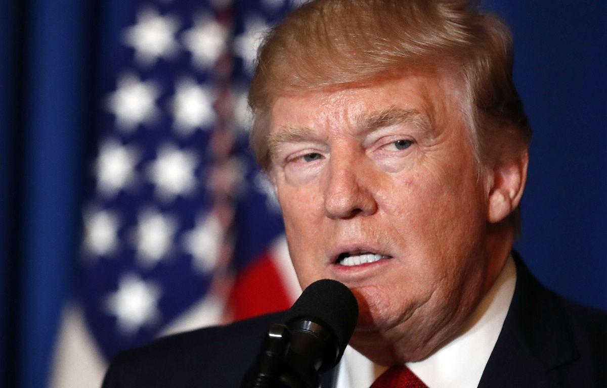 Le président américain Donald Trump s'est exprimé sur les frappes aériennes lancées sur une base syrienne. – Alex Brandon/AP/SIPA