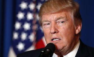 Le président américain Donald Trump s'est exprimé sur les frappes aériennes lancées sur une base syrienne.