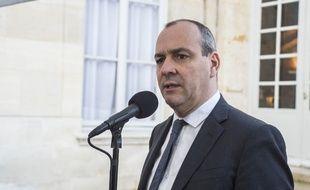 Laurent Berger le 13 février 2020 à Matignon.