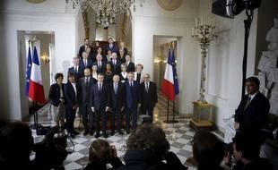 La première photo officielle du gouvernement d'Edouard Philippe.