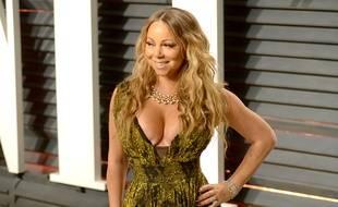 Mariah Carey à la soirée post-Oscars de Vanity Fair