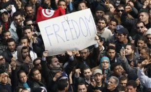 L'« agora électronique» avait mobilisé la foule le 14 janvier 2011.