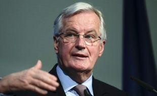 Le négociateur en chef de l'UE sur le Brexit, Michel Barnier