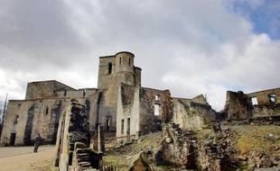 Le village d'Oradour-sur-Glane, le 30 mars 2007