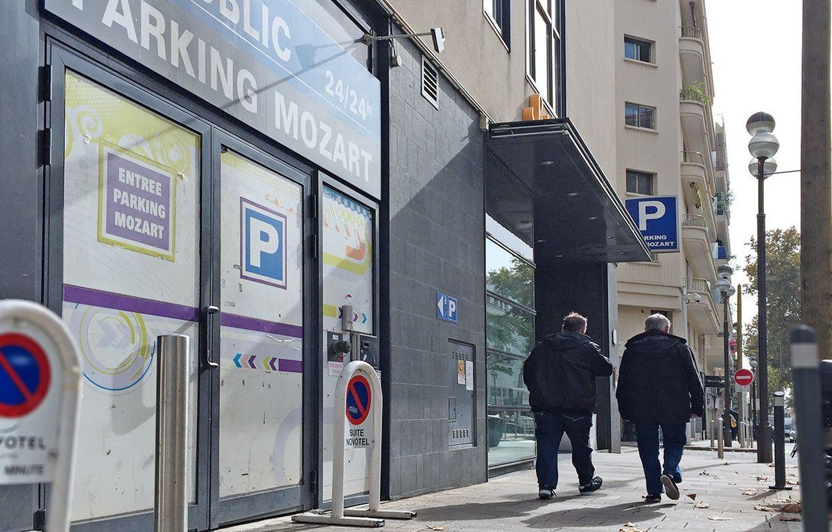 L'accès au club L'Anonyme se fait par l'entrée d'un parking souterrain  – F. Binacchi / ANP / 20 Minutes