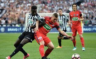 La finale de la Coupe de France entre le PSG et Angers le 27 mai 2017.