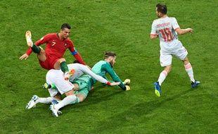 Portugais et Espagnols se sont donnés rendez-vous avant l'Euro en amical.