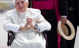 Joseph Ratzinger, le 22 juin 2020 à Munich.