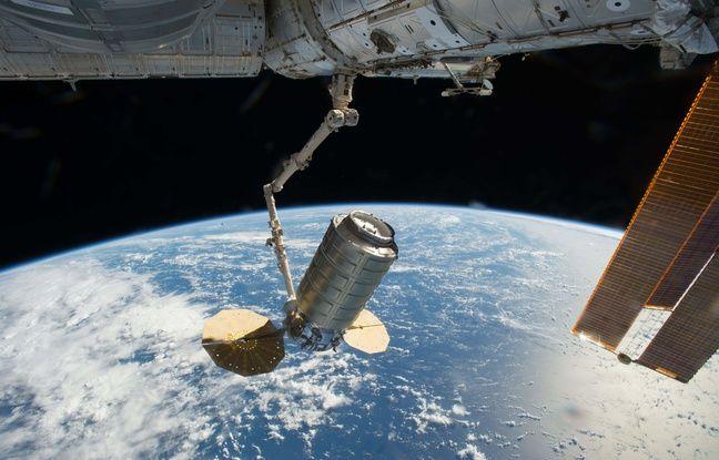 Thomas Pesquet s'est fait livrer du matos à la Station spatiale internationale