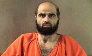Photo non datée de Nidal Hasan, condamné à mort le 28 août 2013 pour la tuerie de Fort Hood.