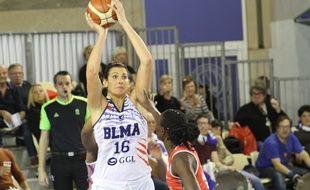 Helena Ciak et ses partenaires du BLMA ont pris une grosse option vers les demi-finales d'Eurocoupe (archives).