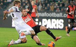 Buteur puis passeur décisif, Clément Chantôme a brillé à Rennes (2-3).