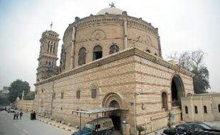 Les coptes craignent que les tensions entre chrétiens et musulmans ne remontent après la victoire de Mohammed Morsi à la présidentielle, dimanche (ici, l'église Saint-Jean, au Caire).