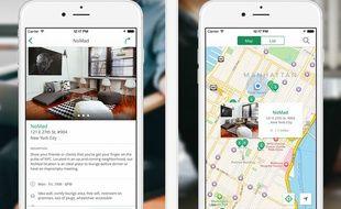 L'application Breather permet à ses utilisateurs de louer un appartement vide le temps d'une heure ou deux pour se reposer ou travailler avec l'accord de son propriétaire