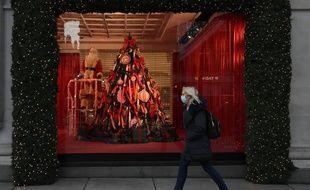Une vitrine de Noël (image d'illustration).
