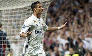 Cristiano Ronaldo a inscrit un doublé face au Bayern, mardi 18 avril.