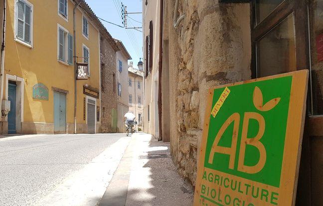 Le village de Correns s'est proclamé premier village bio de France