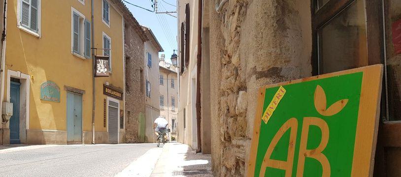 Le village de Correns s'est proclamé premier village bio de France.