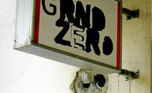 L'entrée de Grnd Zero à Gerland.