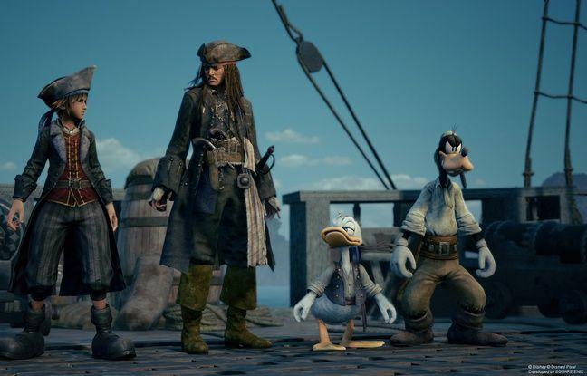 L'univers de Pirates des Caraïbes répond aussi présent ici.