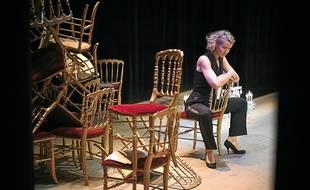 Alexandra Lamy interprète Misia, égérie de la Belle Epoque.