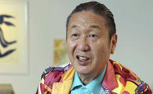 Kansai Yamamoto à Tokyo le 23 avril 2013