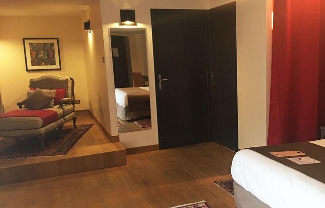 L'hôtel des Tables Vatel dispose de 12 chambres, dont une suite.