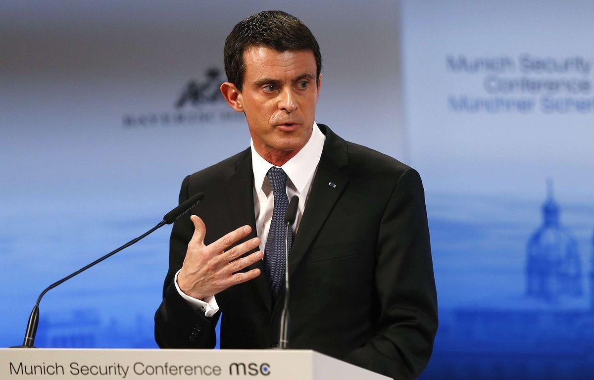 Manuel Valls à Munich, le 13 février 2016. – Matthias Schrader/AP/SIPA