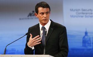 Manuel Valls à Munich, le 13 février 2016.