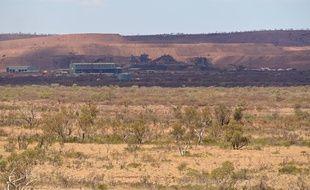 La mine Mount Tom Price appartenant à Rio Tinto