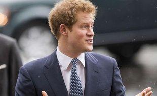 Le prince Harry à Londres le 3 mars 2014.
