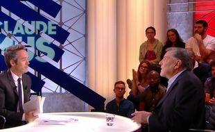 Jean-Claude Camus sur le plateau de Quotidien le 27 octobre 2017.