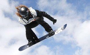 Le snowboarder Shaun White, aux Etats-unis, le 10 mars 2012.