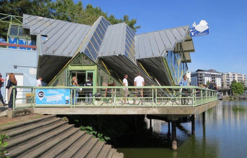 Nantes : Sur l'île de Versailles, la Cocotte en verre rouvre en « cantine solidaire »