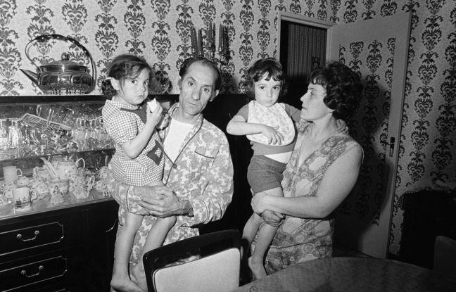 La famille Rambla, avec Jean-Baptiste enfant et sa sœur Marie-Dolorès avant qu'elle ne soit tuée.
