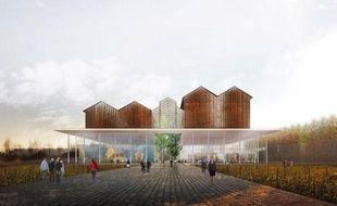 Un des projets de rénovation de la halle Soferti.
