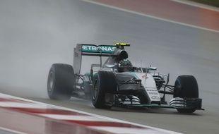 Nico Rosberg au Grand Prix des Etats-Unis le 25 octobre 2015.