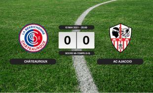 Ligue 2, 38ème journée: Match nul entre Châteauroux et l'AC Ajaccio (0-0)